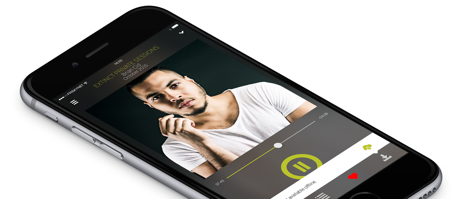 FRISKY mobile app